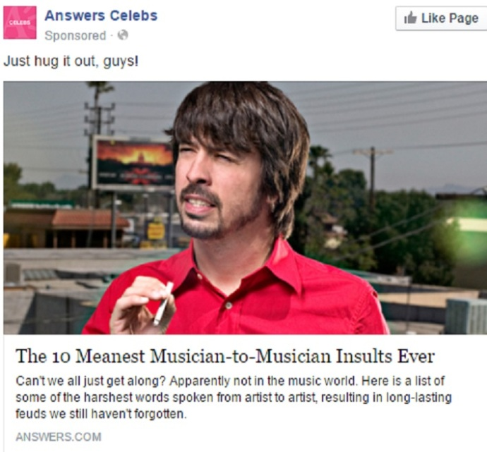 Dave Grohl does not appear at any point in the above listicle.